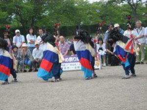 八幡堂系の鹿踊